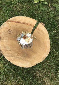 Kvetinkový hrebienok do vlasov vyrobený z umelých kvetov na každú príležitosť Folk, Stone, Outdoor Decor, Home Decor, Rock, Decoration Home, Popular, Room Decor, Forks