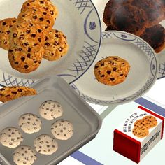 Chocolate Chip Cookies for The Sims 2 (TS2)