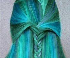 COLOUR HAIR *-* | via Facebook
