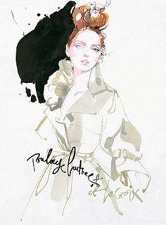 David+Downton's+fashion+illustrations