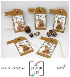 scraplolotte: Etiquettes cadeaux#lestudiodiy#dt