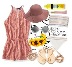 """""""Heat wave"""" by mildredsunrise on Polyvore featuring Aéropostale, WithChic, Neutrogena and AERIN"""