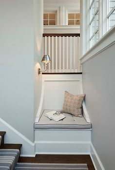 Gorgeous Stairway Nook + Windows .