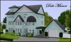 Dale Manor - House by Judi Sims at Custom Sims 3 - Sims 3 Finds