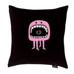Freaks Pillow 20x20 Black, $49, now featured on Fab.