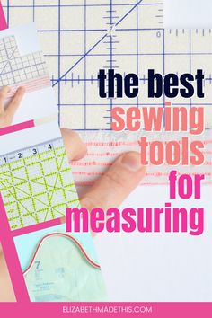 Up your sewing accuracy with this collection of sewing tools for measuring. You can cut