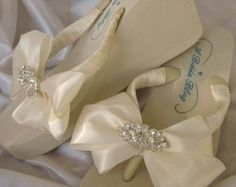 Items similar to Bridal Ivory or White Bridal Flip Flop Sandals with Crystal Rhinestone and Pearl Diamond Brooch Design on Etsy Beach Wedding Sandals, Bridal Sandals, Wedding Shoes, Swarovski Pearls, Crystal Rhinestone, Wedding Flip Flops, White Flip Flops, Diamond Brooch, White Bridal