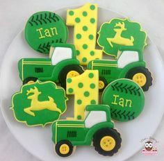 John Deere Party Cookies