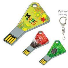 1 Gb Triangle USB 2.0 Flash Drive