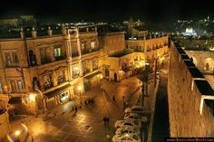 Old City from the wall of the Tower of David ~ Jerusalem