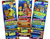 Scooby doo invitation. $11.99, via Etsy.
