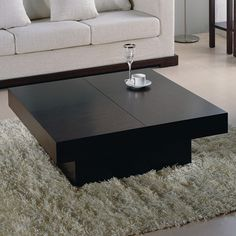 $588 - hearth room coffee table? Too sharp corners? Beverly Hills Furniture Nile Motion Coffee Table