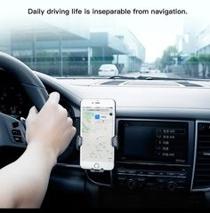 Baseus Air Outlet Car Phone Holder For iPhone 6 7 Samsung Phone Stand For Car, Kitchen Electronics, Gps Map, Air Vent, Car Mount, Phone Holder, Iphone 6, Samsung, S7 Edge