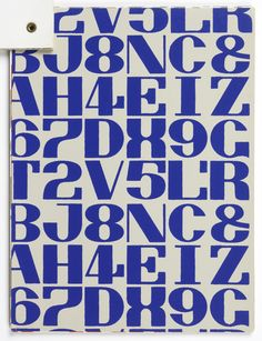 Alexander Girard Thirty-seven samples of wallpaper, featuring eight different patterns. Postbinding in top left corner. Alexander Girard, Modern Typeface, Modern Typography, Typography Letters, Hand Lettering, Typography Logo, Modern Graphic Design, Graphic Design Posters, Graphic Design Typography