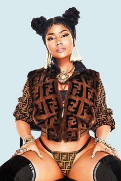 e0e80adf15ee6 Nicki Minaj big ass cover of upcoming single Chun-Li +adds