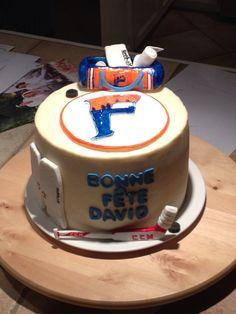 Hockey cake Hockey Cakes, Desserts, Food, Meal, Deserts, Essen, Hoods, Dessert, Postres
