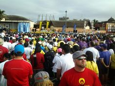 And now we ready to start #BigWalkDurban with @ecr9495