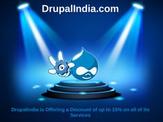 DrupalIndia the premier Drupal services company, is offering a discount of up to 15% on all of its services.