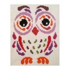 Art Deco Owl I is the title of this cross stitch pattern from Cross Stitch Wonder.