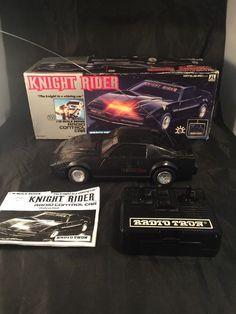 Vintage Rare Knight Rider Radio Controlled Car Kitt Matsushiro Uk No A1041 Japan | Toys & Games, Diecast & Vehicles, Cars, Trucks & Vans | eBay!