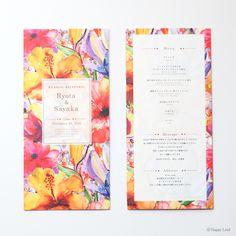コレクション席次表 三つ折り ベーシック Lahaina / ラハイナ|席次表・席札の専門店ハッピーリーフ Wedding Crafts, Wedding Paper, Wedding Decorations, 3 Fold Brochure, Leaflet Design, Bussiness Card, Chocolate Packaging, Invitation Paper, Typography Logo