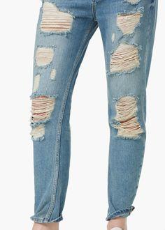 Boyfriend angie jeans | MANGO