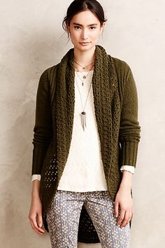 Deni Cocoon Cardigan  #anthropologie