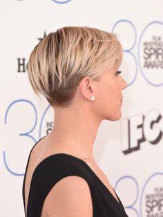 Scarlett Johansson In Short Haircut Scarlett Johansson Short