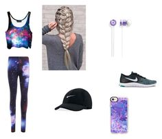 """Sporty"" by nikyasumner on Polyvore featuring NIKE and Casetify"