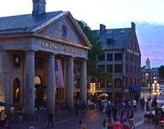Boston, Fanueil Hall, Quincy Market  Photos © Lori Schoenhard Photography lorischoenhardphotography.com/boston
