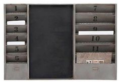 """Metal message board 36""""W, 24""""H $119.95. Find it today at Cut Above Home!"""