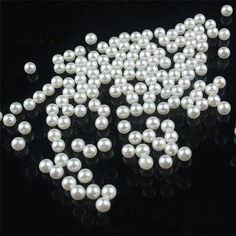 200 Pcs 5 mm Round Pearl Beads by YourLittleStore on Etsy