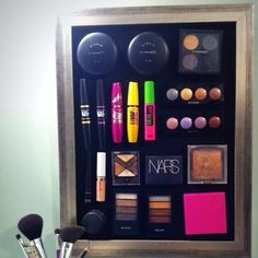 14 Genius Ways to Store Your Beauty Products http://www.womenshealthmag.com/beauty/makeup-storage