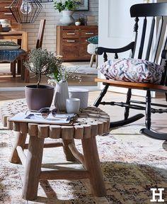 Entzuckend Der Couchtisch Marone Wird Das Highlight Ihres Wohnzimmers. Besonders Die  Auffällige Tischplatte Aus Treibholz Fällt Sofort Ins Auge.