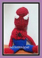 Spiderman amigurumi Ronald Mcdonald, Fictional Characters, Art, Trapillo, Hand Made, Amigurumi, Patterns, Art Background, Kunst