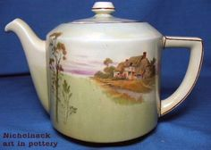 Royal Doulton English Cotages New Empire Teapot