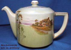 Royal Doulton English Cotages New Empire Teapot