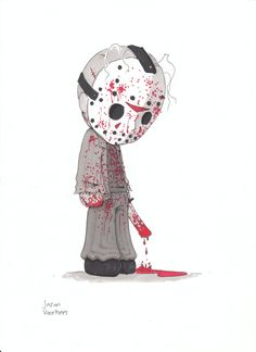 Jason Voorhees, my favorite horror movie character