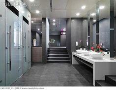 Interior Modern Public Restroom LMG10187 014