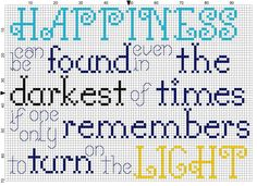 My favorite quote from Harry Potter in cross stitch pattern!  Made for a 5x7 inch (13×18 cm) frame.