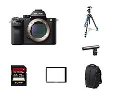 Sony ILCE7RM2/B a7R II Full-Frame Mirrorless Interchangeable...