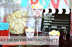 at the movies birthday party
