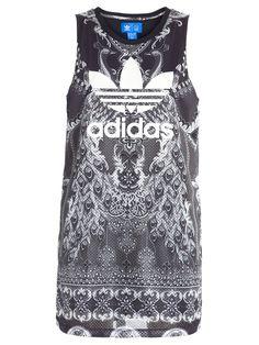 Vestido Pavão Tank - Adidas - Preto - Shop2gether