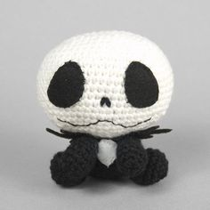 Jack Skellington (no pattern)