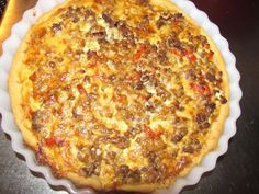 Jauhelihapiiras Quiche, Macaroni And Cheese, Food And Drink, Pizza, Breakfast, Ethnic Recipes, Desserts, Iso, Morning Coffee