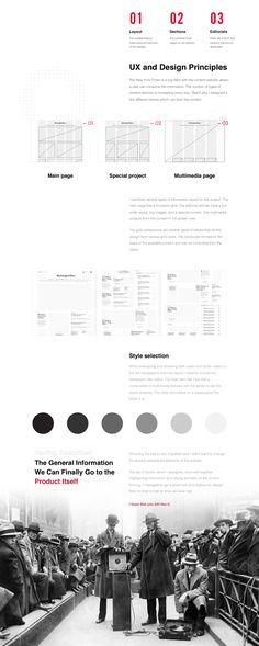 NYT Redesign Concept on Behance Web Design, Event Page, Behance, Photoshop, Concept, Portal, News, Creative, Design Web