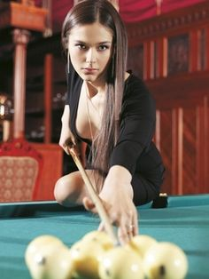 Anastasia Lupova - professional billards player