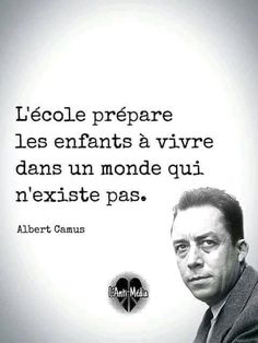 French Quotes, English Quotes, Daily Quotes, Life Quotes, Basic French Words, Albert Camus, Weird Words, Dream Quotes, Bad Mood