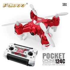 Dual Mode With 2.0MP HD Cam With Switchable Controller RC Drone One Press Home 360 Degrees Rollover