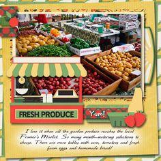 Farmer's Market by Tbear. Kit: Veggie for Sale by Karenheckyeah Digital Designs http://scrapbird.com/designers-c-73/k-m-c-73_516/karenheckyeah-digital-designs-c-73_516_565/veggies-for-sale-p-18008.html